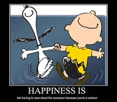 Happiness is - Snoopy and Charlie Brown