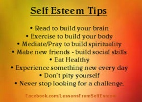 self esteem tips